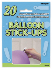 Balloon Stick-Ups 20Pk